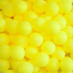 Table Tennis Ball- Yellow PP Material - PMS 102C