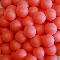 Table Tennis Ball- Red PP Material- 40mm Size