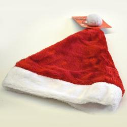 Deluxe Plush Red Santa Hat- Large Adult Size (SOLD OUT UNTIL 2021)