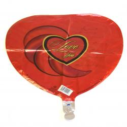 Mylar Balloon- I Love You