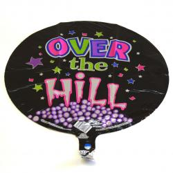 Mylar Balloon- Over the Hill