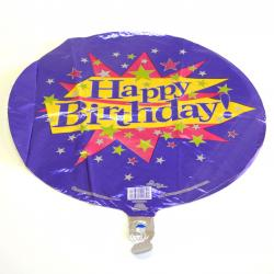Mylar Balloon- Birthday Blast