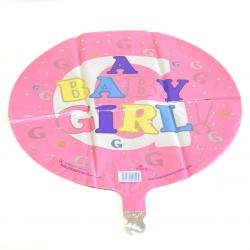 Mylar Balloon- Baby Girl
