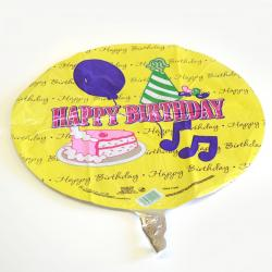 Mylar Balloon- Cake/Balloon/Hat Hb