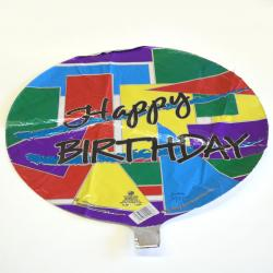 Mylar Balloon- West Coast Colors