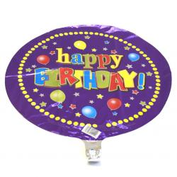 Mylar Balloon- Bright Colors