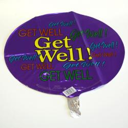Mylar Balloon- Get Well Multiple