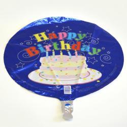 Mylar Balloon- Cake W/ Confetti Hb