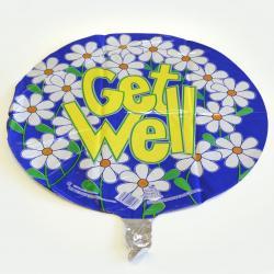 Mylar Balloon- Get Well Daisies