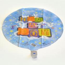 Mylar Balloon- Its A Boy Blocks