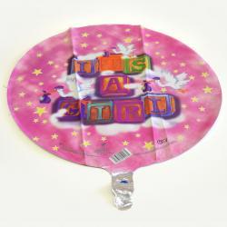 Mylar Balloon- Its A Girl Blocks