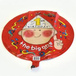 Mylar Balloon- 1st Birthday  Big One