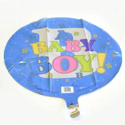 Mylar Balloon- Baby Boy