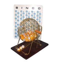 Rental-Bingo Cage W/Balls & Cards