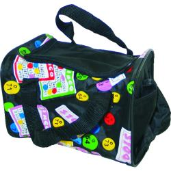 Bingo Cube Bag W/ 4 Side Pockets