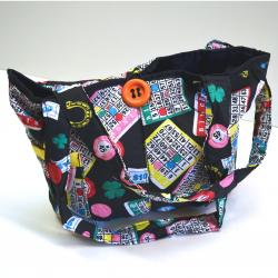 Bingo Bag- Deluxe Quilted Cotton Material