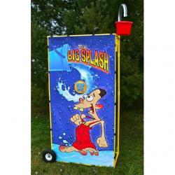 Rental Splash Bucket Game