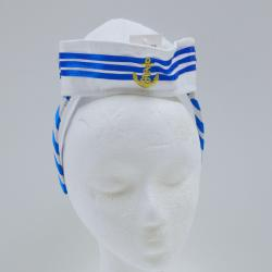 Mini Navy Hat/Headband