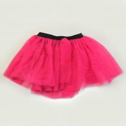 Hot Pink Tutu w/Black Elastic Waistband- Fits Most Young Girls