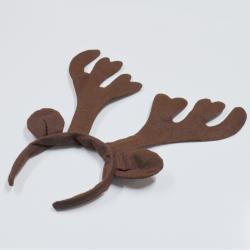Felt Christmas Reindeer Antlers