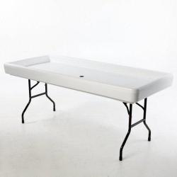 Fill & Chill Table-  White
