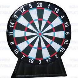 Rental Inflatable Dart Board-10 Feet Tall By 8 Feet Wide