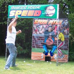 Rental Game Speed Pitch Baseball
