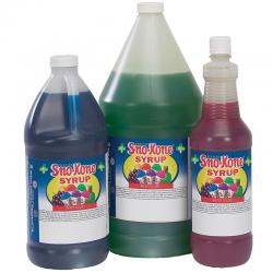 Spec Order Snokone RTU Syrup All Cane Blue Rasberry