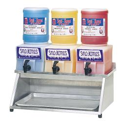 Dispenser Rack-Sno Kone Alum