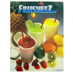 Laminated Frusheez Poster