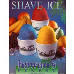 Poster- Hawaii Finest Shaver