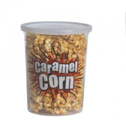 Caramel Corn Containers- Small 500 each w/lids