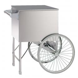 Cart-Two Wheel-Stainless 20 inches X 20 inches