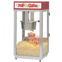Super 88 Popcorn Machine With Lighted Sign