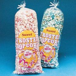 Frosted Popcorn Bag- 16 Inch