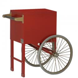 Cart-Two Wheel-Red Plain
