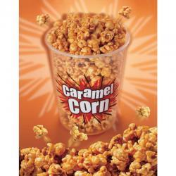 Laminated Caramel Popcorn Poster