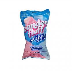 Pre-Made Cotton Candy- 3.1 Oz- Gold Medal Candee Fluff- 24 Bags/Carton