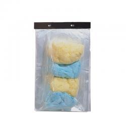 Gm Unprinted Cc Bags W/Ties-1000 Pack