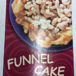 Poster- Funnel Cake