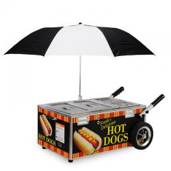 Hot Dog Steamer-Cart Style-Includes