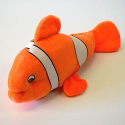 Plush Clown Fish- 13 Inch- Orange