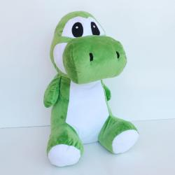 Giant Plush Cartoon Dinosaur- Sitting- 20 Inches- Green