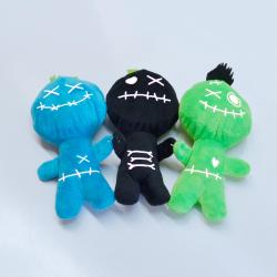 Voodoo Man- 12 Inch- Black, Blue and Green Assorted