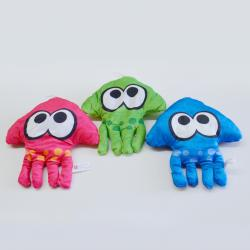 Plush Jellyfish- 10 Inch X 10 Inch- 3 Asst Colors- Pink Blue and Green