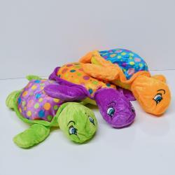 Medium Plush Polka Dot Turtle- 14.5 Inch- Asst Colors