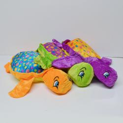 Large Plush Polka Dot Turtle- 21 Inch- Asst Colors