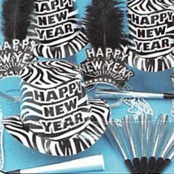 Kit- Zebra Party Kit for 50 People