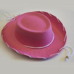 Solid Pack Cowboy Hat- Childrens Size- Pink Only- Sold Only By The Case of 60