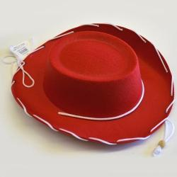 Solid Pack Cowboy Hat- Childrens Size- Red Only- Sold Only By The Case of 60